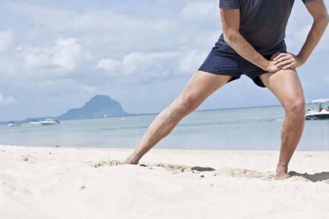 So You've Strained Your Groin...Here's A Treatment Plan.: Stretching can be an important component of recovery from a pulled groin muscle.