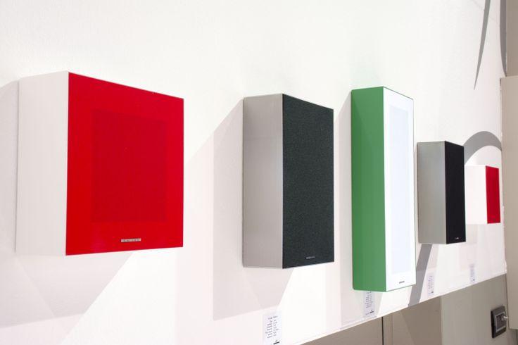 Garvan On-wall Speakers _ ISE 2014