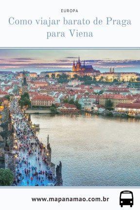 Veja aqui como viajar barato de Praga para Viena, bem barato - Europa