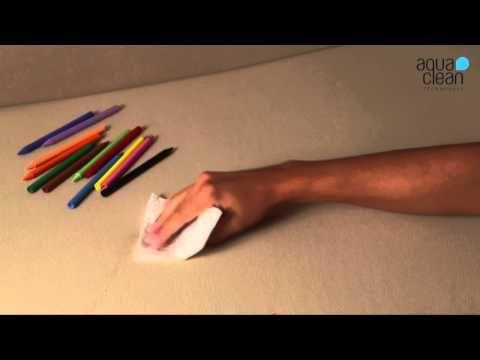 Škvrny od voskoviek - AquaClean kolekcia - YouTube