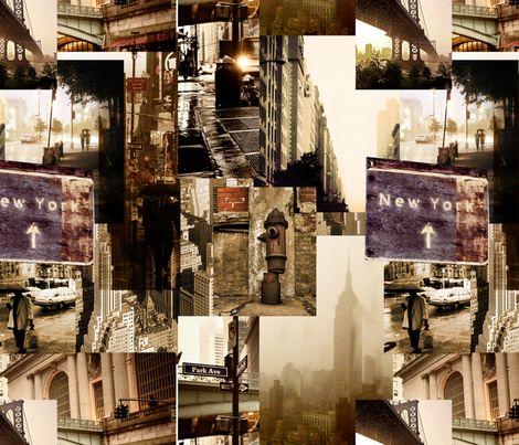 NYC Scenes fabric by lenoir on Spoonflower - custom fabric
