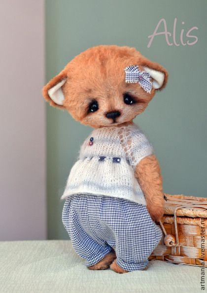 Алиса) - оранжевый,лиса,лисенок,лисичка,лисенок тедди,подарок на любой случай
