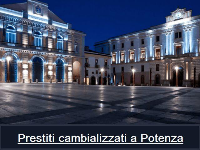 #prestito #cambializzatoa #potenza in #basilicata ... Come richiederlo?