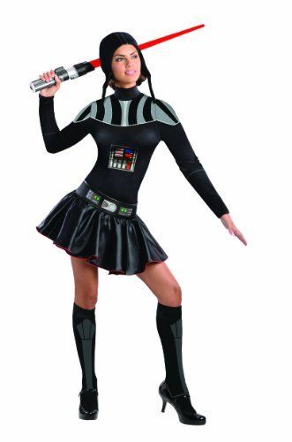 Secret Wishes Star Wars Female Darth Vader Costume Black Medium * Want additional info? Click on the image.