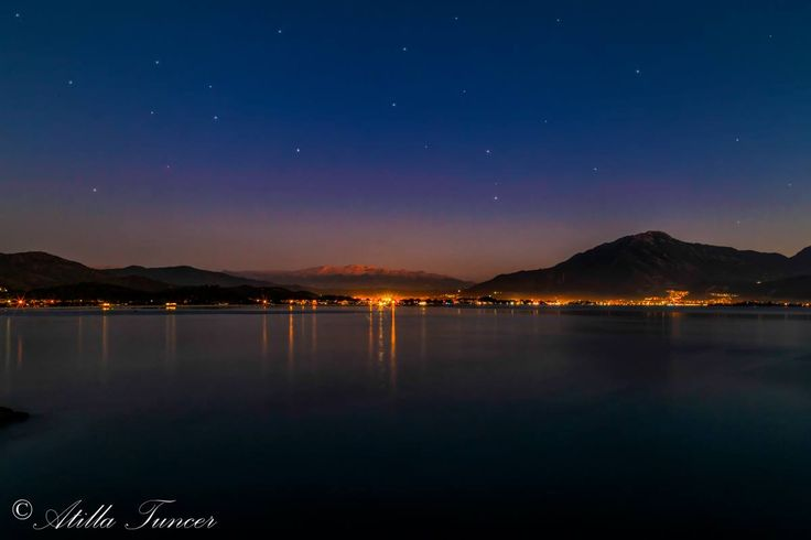 Bright stars in the sky above #Fethiye #Turkey