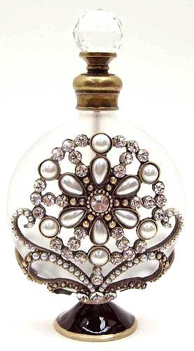 I know what your thinking. This isn't jewelry. It's a Gorgeous Perfume Bottle. You see a bottle I see inspiration.