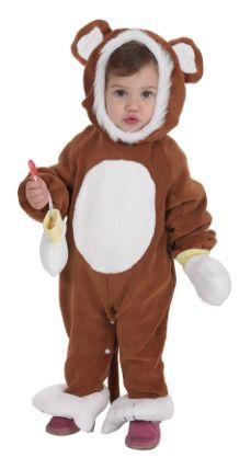 Disfraz de oso marrón