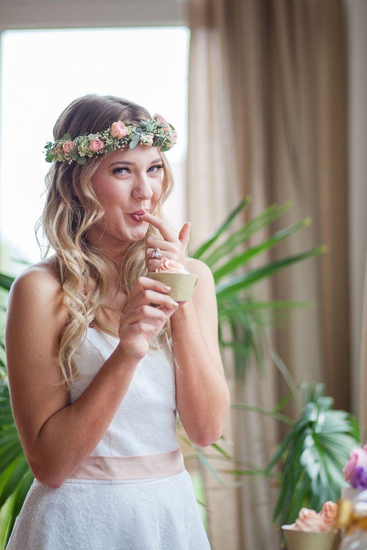 Blütenkranz   – Hochzeit