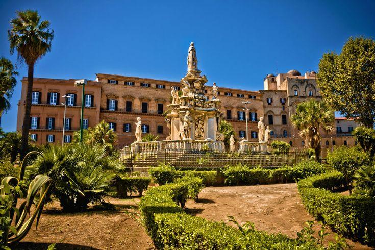 palazzi storici palermo -Palazzo Reale Cerca con Google