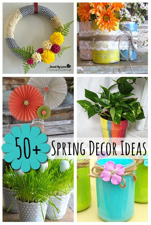 50 Amazing Spring Decor Ideas Savedbyloves Homemade Handmade Ideas TGF P