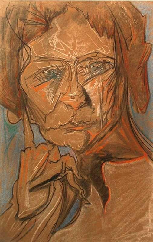 Portrait of Kazimiera Zulawska 1924 Stanislaw Ignacy Witkiewicz