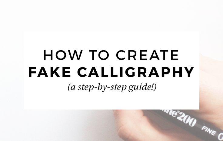 1000 Id Es Sur Le Th Me Modern Calligraphy Tutorial Sur