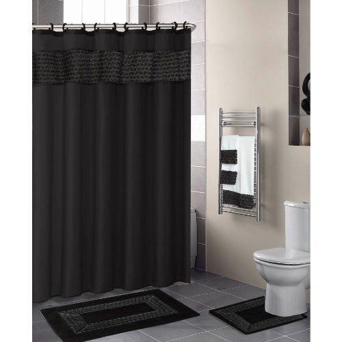 Curtains Ideas black cloth shower curtain : 17 Best images about shower curtains on Pinterest | Floral ribbon ...