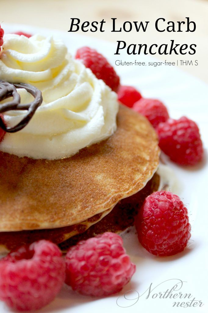Best Low-carb Pancakes! THM S. They don't fall apart.