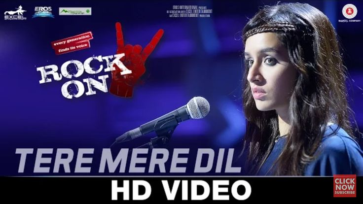 Second song HD video from Rock On 2 Out titled ' Tere Mere Dil sung by Shraddha Kapoor Ft Farhan Akhtar