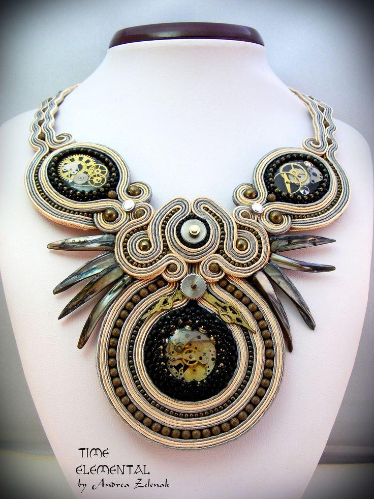 TIME - Elemental Collection - Andrea Zelenak - Andrea.Z Style - soutache
