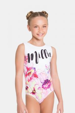 94717dae251d Personalised Wild Orchid Leotard with any name printed into the ...