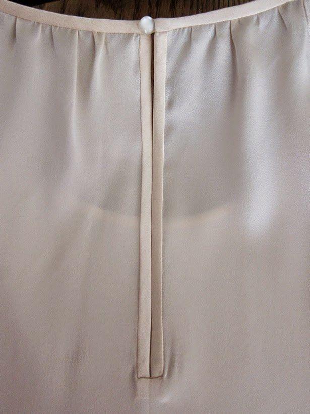 Entre Linhas, Agulhas, Papéis e Tecidos: Limite de Fenda para Blusas