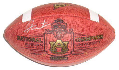 Cam Newton Auburn Tigers Signed National Champs Game Football . $337.49. Cam Newton Auburn Tigers Signed National Champs Game Football