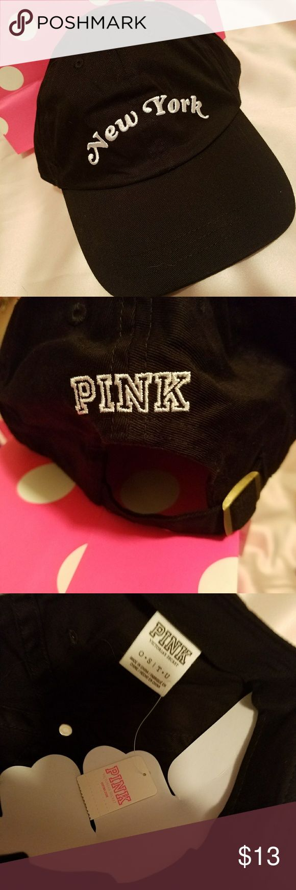 VS pink NYC  baseball cap. PINK baseball cap. New York. Brand new. With tags. Never worn PINK Victoria's Secret Accessories Hats