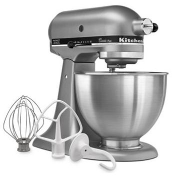 LIVE KitchenAid Classic Plus 4.5-qt. Stand Mixer Only $150.49 (Reg $299.99) - http://couponingforfreebies.com/live-kitchenaid-classic-plus-4-5-qt-stand-mixer-150-49-reg-299-99/