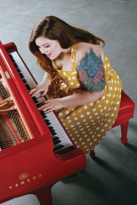 Call singer-songwriter Mary Lambert a missionary for self-acceptance. When it comes to bipolar disorder, body-image and more, she won't take shame for an answer.