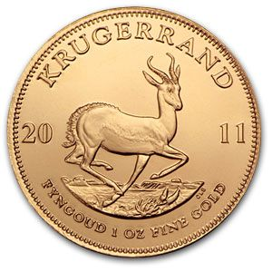 Buy Gold Online | Buy 2011 1 oz Gold South African Krugerrand Coins | APMEX.com