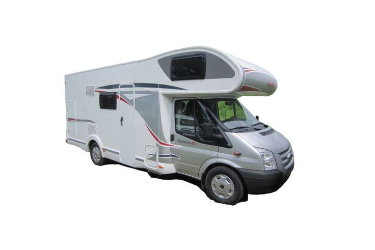 challenger genesis 43 - motorhome rental  in Hungary.