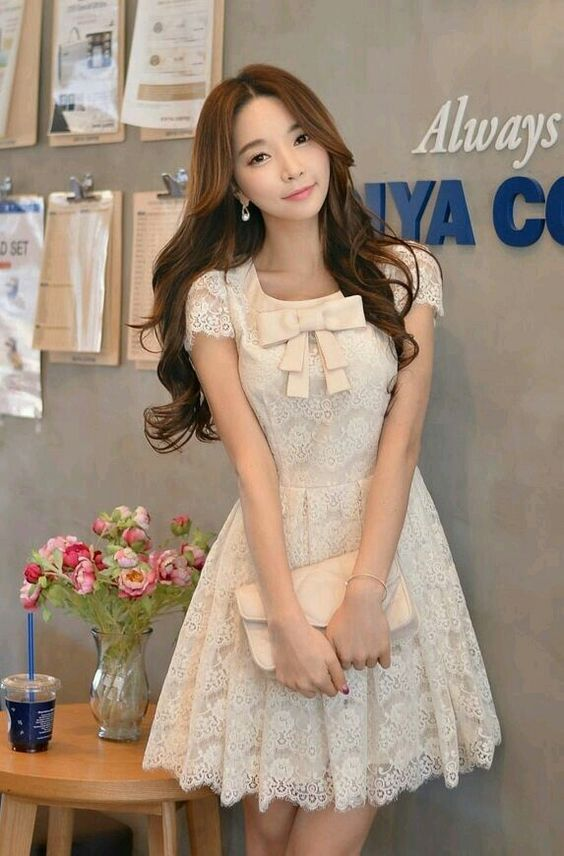 07a20017d vestidos bonito | Vestidos cortos in 2019 | Vestido coreano ...
