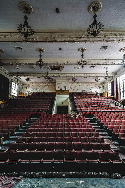 old theatre: