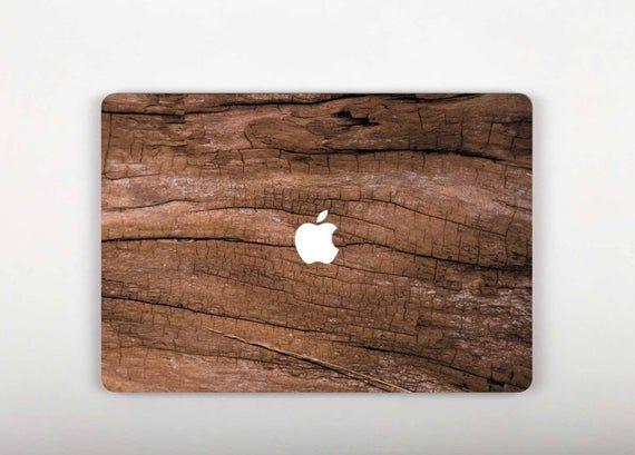 Old Brown Wooden Print MacBook 2019 Decal Wood MacBook 15 Inch Sticker Pro Retina 13 Nature Stickers