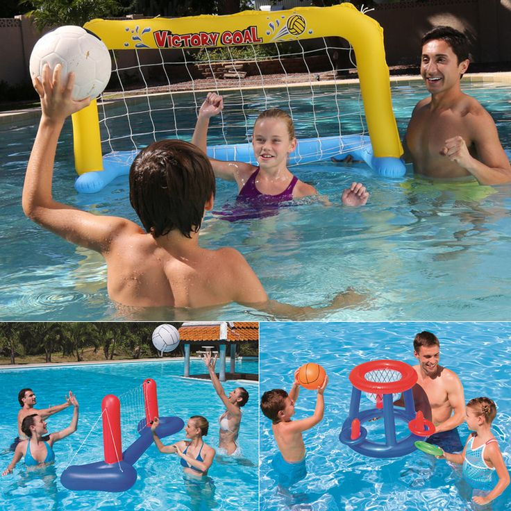 Parentchild Pool Play Water Inflatable Volleyball
