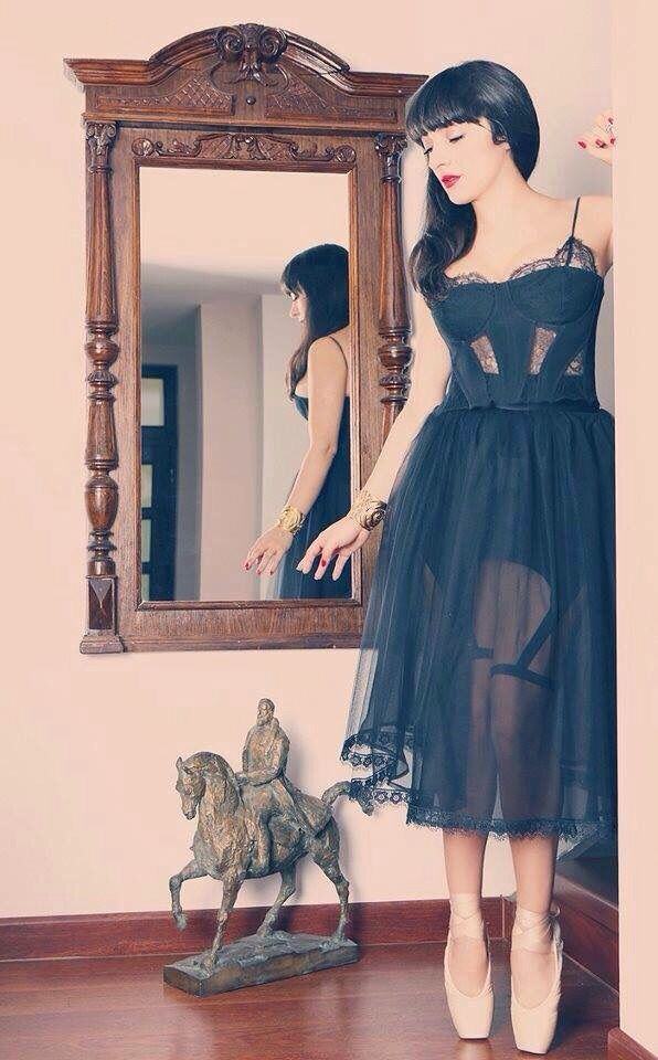 Amazing Ana Morodan wearing Our dress