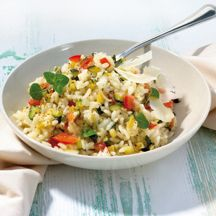 Risotto van tomaat en courgettes Recept | Weight Watchers Nederland