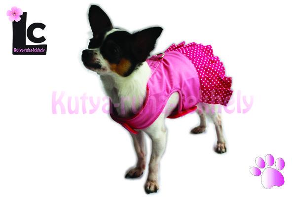 rozsaszín pöttyös kutyahám