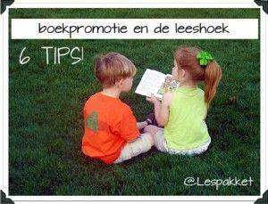 Boekpromotie en de leeshoek - Lespakket - thema's, lesideeën en informatie - onderwijs aan kleuters