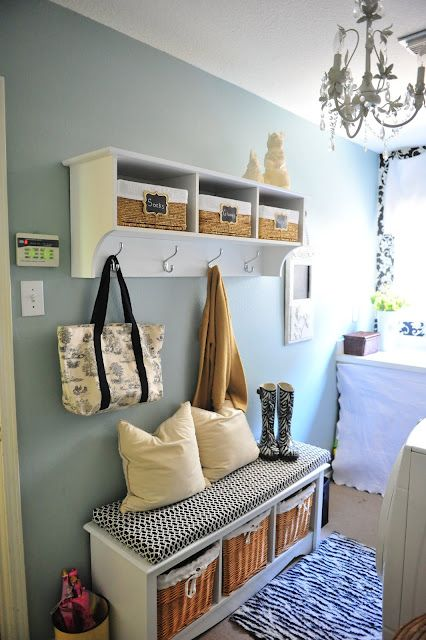 Laundry room- Paint color- Silver Sage