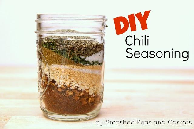 Smashed Peas and Carrots: DIY Chili Seasoning-RECIPE