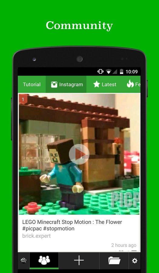 PicPac Stop Motion Pro– une des meilleures applications de stop motion android