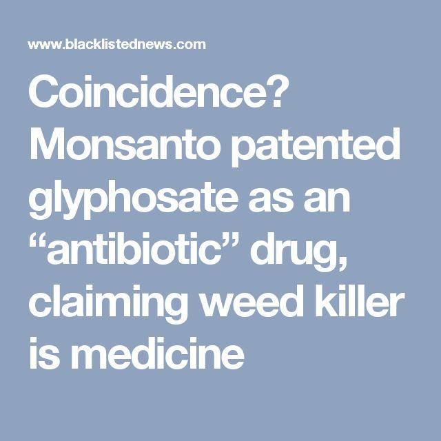 """Résultat de recherche d'images pour """"glyphosate drug antibiotic"""""""