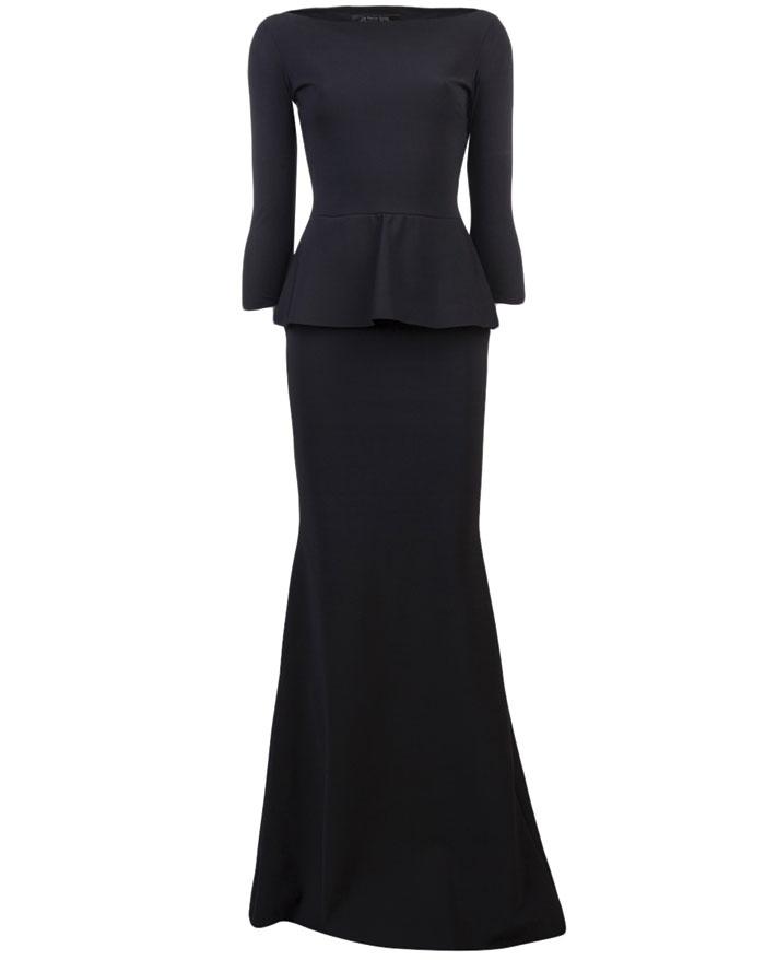 Long Peplum Dress - I need this