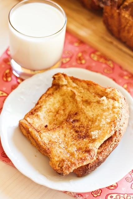 "Сладкий ""хлеб"" с корицей и сахаром"