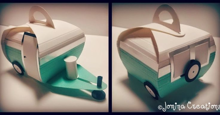 Hi Stamper!  So, if you follow our Instagram (Jomina.Creations) you probably saw this really cute retro trailer made with the Curvy Keepsake...