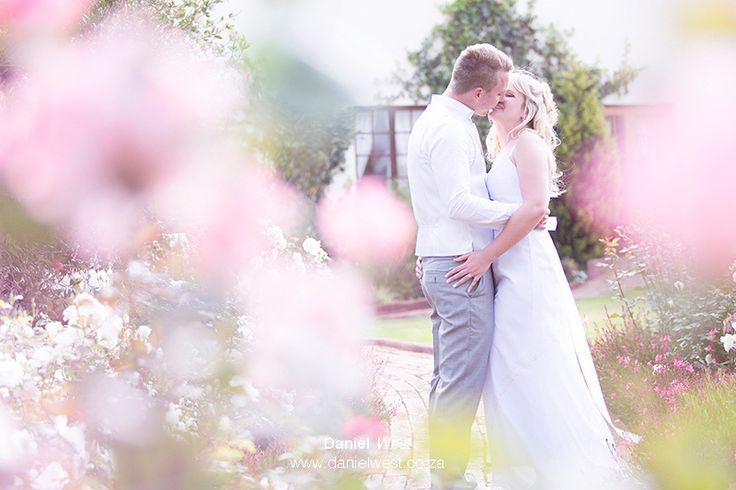 Wedding with pink flowers