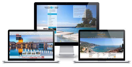 Nos sites immobiliers sont responsive design ! Ils s'adaptent à tous les écrans