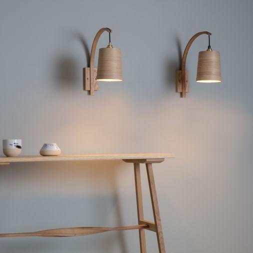 Stem Wall Light | Tom Raffield