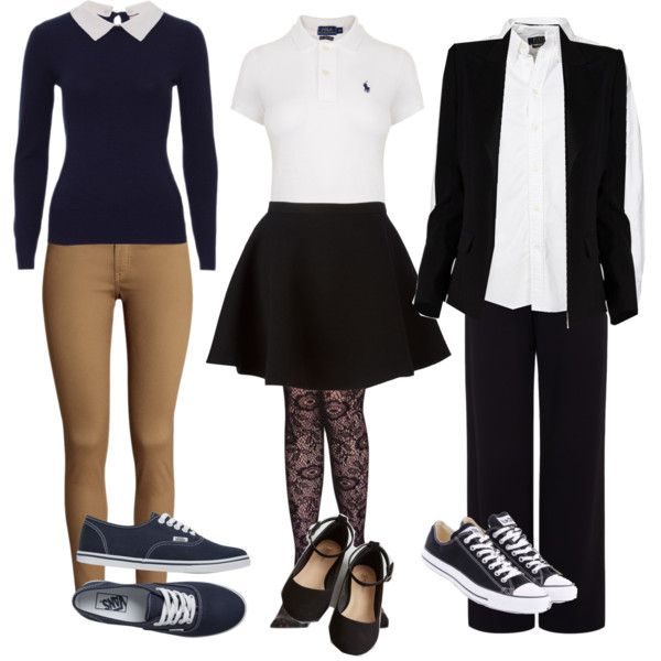 school uniform outfits