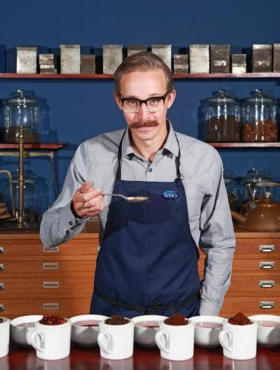 Michaelis, a #tea #sommelier and one of 10 master blenders for widely accessible British tea brand Tetley, the powerhouse tea manufacturer headquartered in London and the second largest teabag brand worldwide.