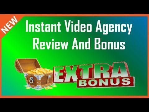 Instant Video Agency Review   Huge Instant Video Agency Bonus - YouTube