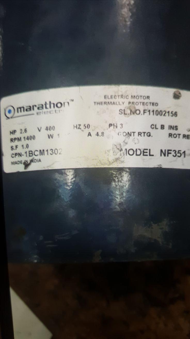 Marathon Electric 1BCM1302 / NF351 motor